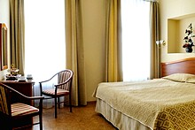 Superior Double Room at the Comfort Hotel in St. Petersburg