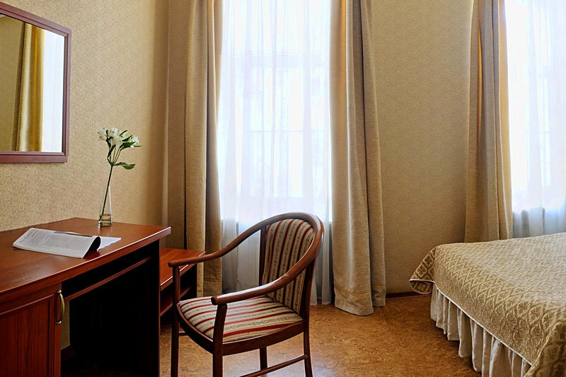Standard Double Room at the Comfort Hotel in St. Petersburg