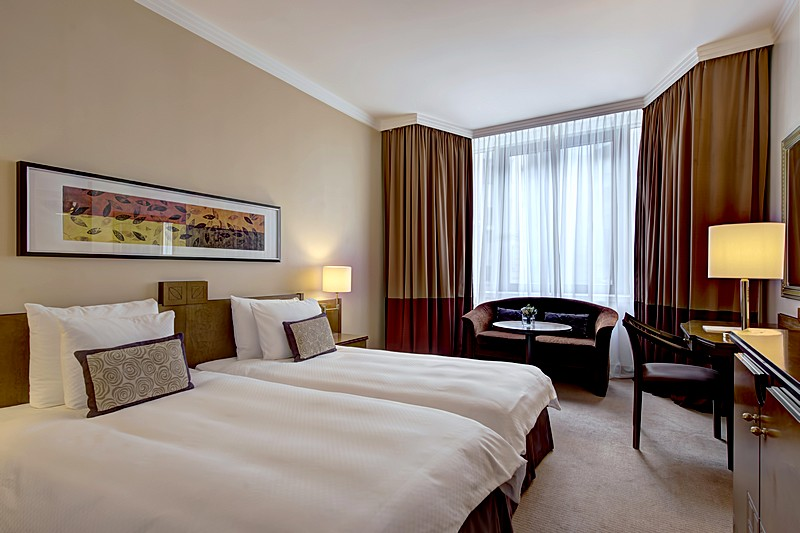 Superior Twin Room at the Corinthia Hotel St. Petersburg in St. Petersburg
