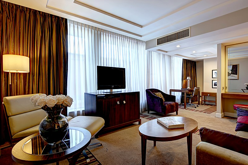 Junior Terrace Suite at the Corinthia Hotel St. Petersburg in St. Petersburg