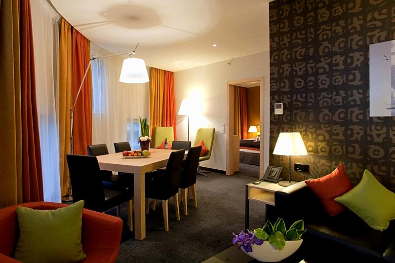 Suite at the Crowne Plaza St Petersburg Airport Hotel