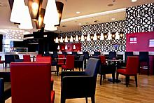 Cafe Plaza by Illy at the Crowne Plaza St Petersburg Airport Hotel