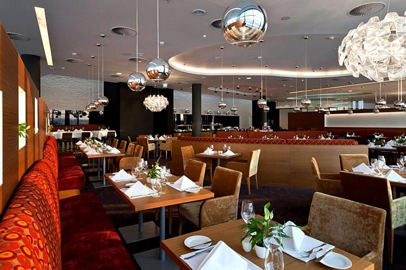 Skylight Restaurant At Crowne Plaza St Petersburg Airport