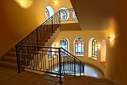Stairs at the Dostoevsky Hotel in St. Petersburg