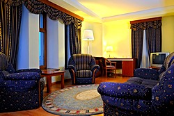 St. Petersburg and Nevsky Suites at the Dostoevsky Hotel in St. Petersburg