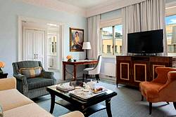 Deluxe One-Bedroom Suite at the Four Seasons Lion Palace Hotel in St. Petersburg