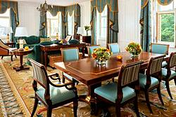 Palace Suite at the Four Seasons Lion Palace Hotel in St. Petersburg