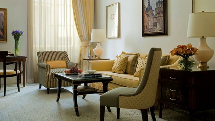 Premium One-Bedroom Suite at the Four Seasons Lion Palace Hotel in St. Petersburg