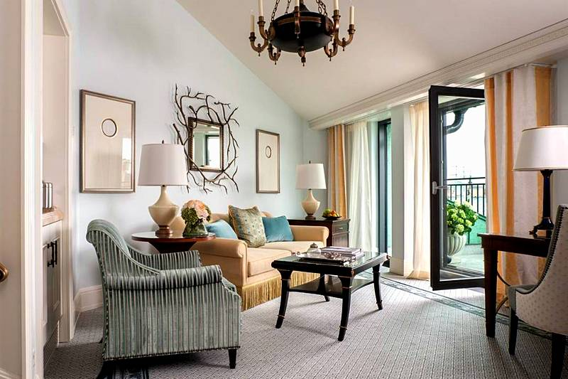 Terrace Suite At The Four Seasons Lion Palace Hotel In St Petersburg