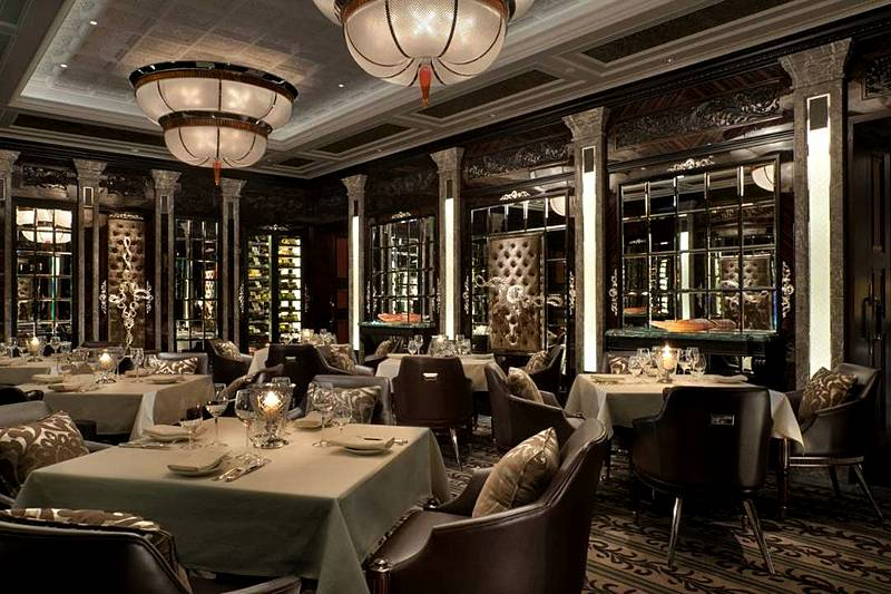 Percorso Restaurant At The Four Seasons Lion Palace Hotel