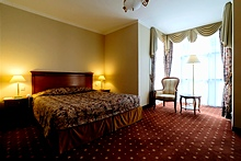 Standard Double Room at the Grand Hotel Emerald in St. Petersburg