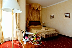 Junior Suite at the Grand Hotel Emerald in St. Petersburg