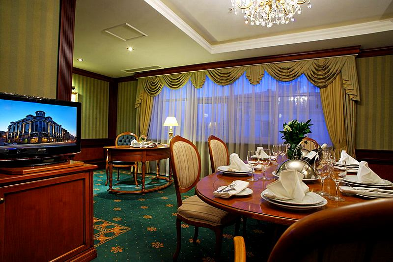 Presidential Suite at the Grand Hotel Emerald in St. Petersburg