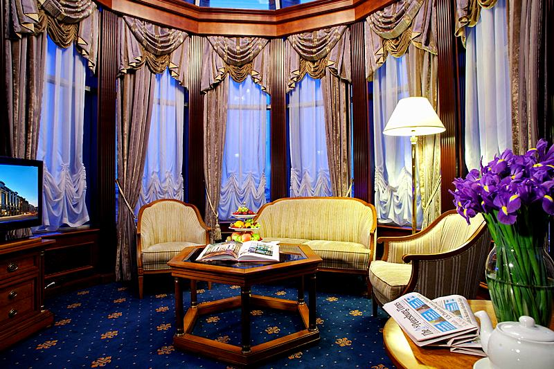 Royal Suite at the Grand Hotel Emerald in St. Petersburg