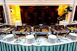 Breakfast at the Grand Hotel Emerald in St. Petersburg