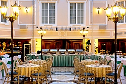 Versailles Atrium Cafe at the Grand Hotel Emerald in St. Petersburg