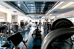 Fitness Centre at the Grand Hotel Emerald in St. Petersburg