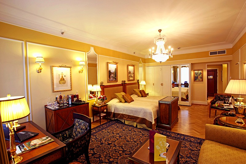 Belle Chambre Junior Twin Suite at the Belmond Grand Hotel Europe in St. Petersburg