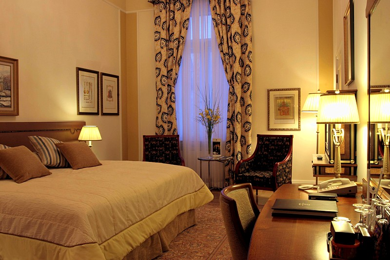 Classic Historical Double Room at the Belmond Grand Hotel Europe in St. Petersburg