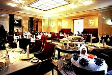 Caviar Bar & Restaurant at the Belmond Grand Hotel Europe in St. Petersburg
