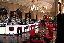 Lobby Bar at the Belmond Grand Hotel Europe in St. Petersburg