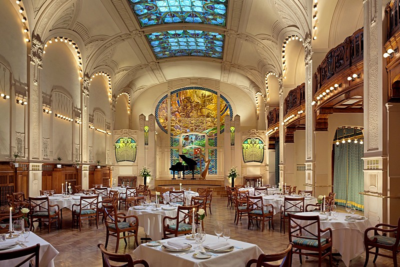 L'Europe Restaurant at the Belmond Grand Hotel Europe in St. Petersburg