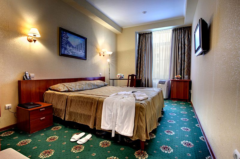 Standard Double Room at the Guyot Hotel in St. Petersburg