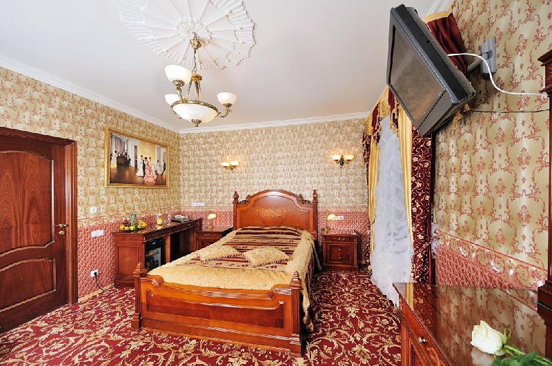Elizaveta Comfort Room at the Happy Pushkin Hotel in St. Petersburg