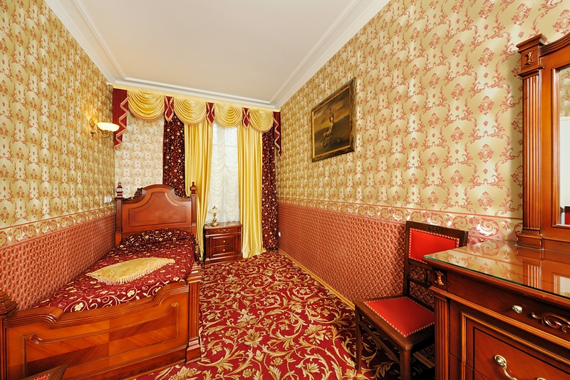 Eupraxia Single Room at the Happy Pushkin Hotel in St. Petersburg