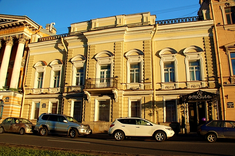 History Hotel on English Embankment in St. Petersburg
