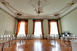 Meeting Room at the History Hotel on Kanal Griboedova in St. Petersburg