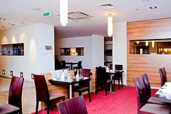Avant-Garde Restaurant at the Holiday Inn Moskovskye Vorota Hotel in St. Petersburg
