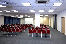 Stenberg Conference Hall at the Holiday Inn Moskovskye Vorota Hotel in St. Petersburg