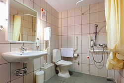 Standard Twin Room for Disabled Guests at the Ibis St. Petersburg Centre Hotel in St. Petersburg