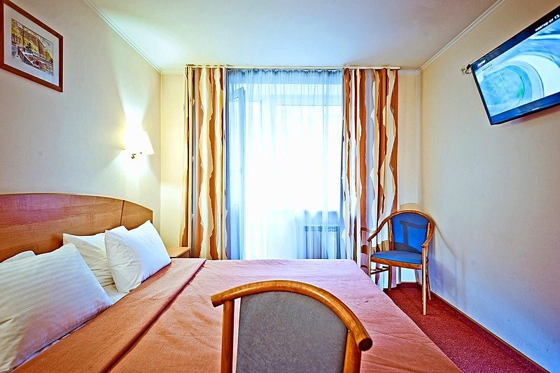 Business Double Room at the Karelia Business Hotel in St. Petersburg