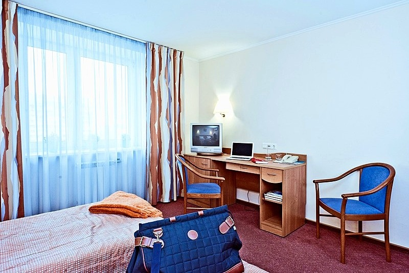 Business Twin Room at the Karelia Business Hotel in St. Petersburg