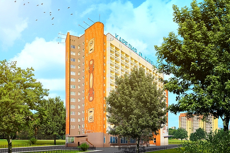 Karelia Business Hotel in St. Petersburg