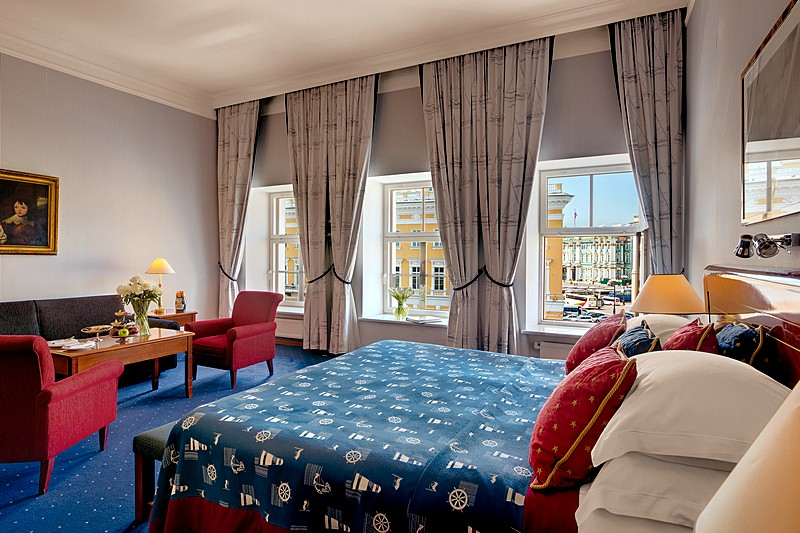 Grand Deluxe Suite at the Kempinski Hotel Moika 22 in St. Petersburg