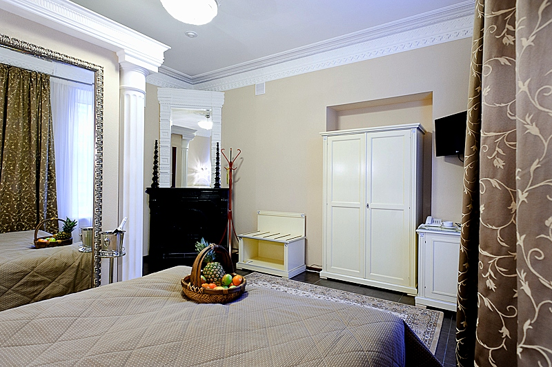 Superior Double Room at the Kristoff Hotel in St. Petersburg