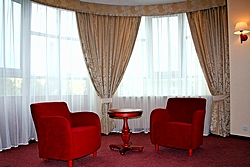 Junior Suite at the Lyra Hotel in St. Petersburg
