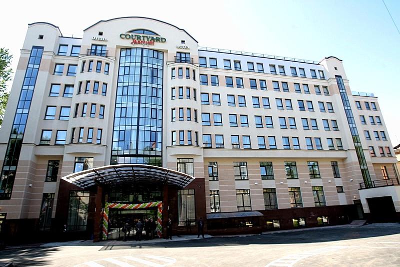 Marriott Courtyard Center West Pushkin Hotel In St Petersburg