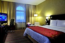 Deluxe Double Room at the Marriott Courtyard Vasilievsky in St. Petersburg