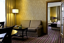 Suite at the Marriott Courtyard Vasilievsky in St. Petersburg
