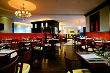 Pierrot Restaurant at the Marriott Courtyard Vasilievsky in St. Petersburg