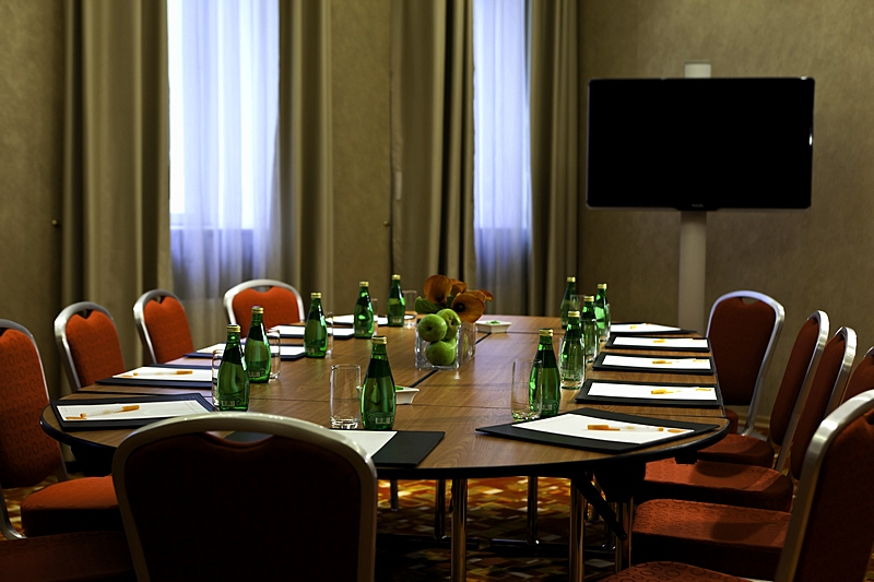 Pskov Boardroom at the Marriott Courtyard Vasilievsky in St. Petersburg