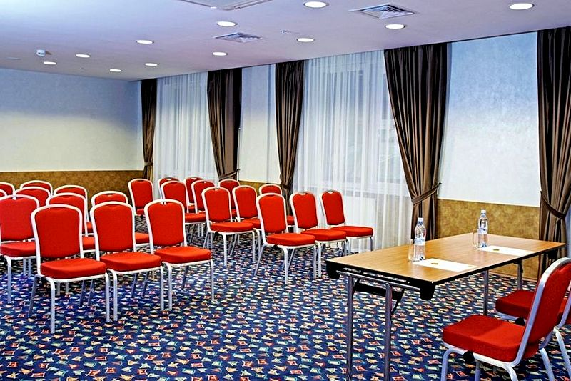 Volgograd meeting space at the Marriott Courtyard Vasilievsky in St. Petersburg