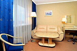 Comfort Business Room at the Moscow Hotel in St. Petersburg