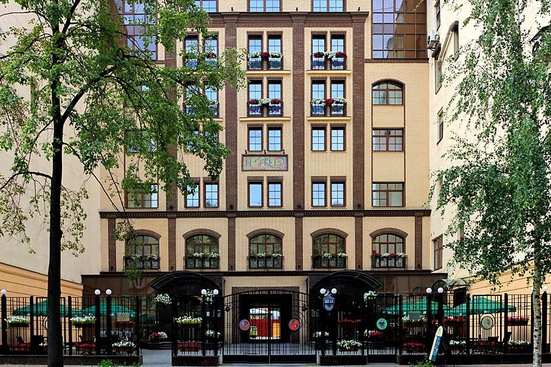 Nashotel in st petersburg boutique design hotel on for Design hotel schwabing