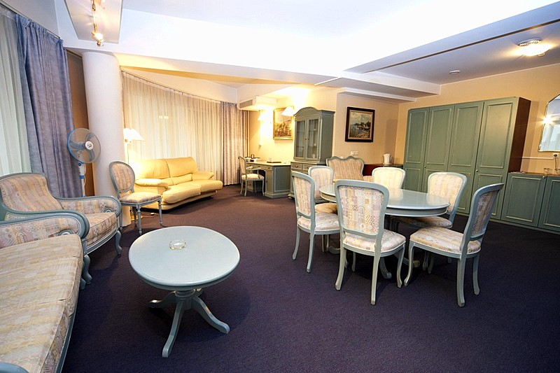 Suite (Building A) at the Neptun Business Hotel in St. Petersburg