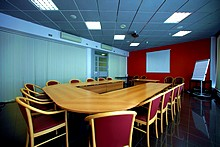 Conference Room at the Neptun Business Hotel in St. Petersburg